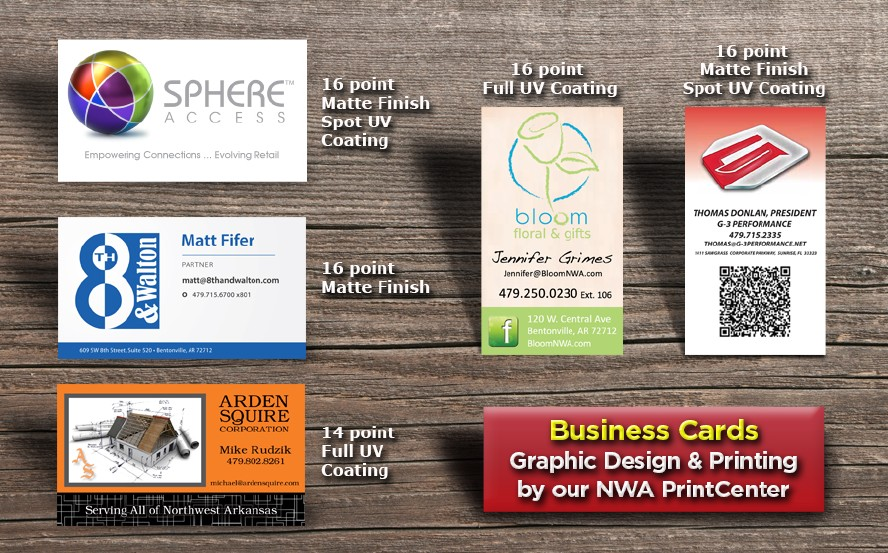 Bentonville rogers graphic design print center for walmart business cards colourmoves