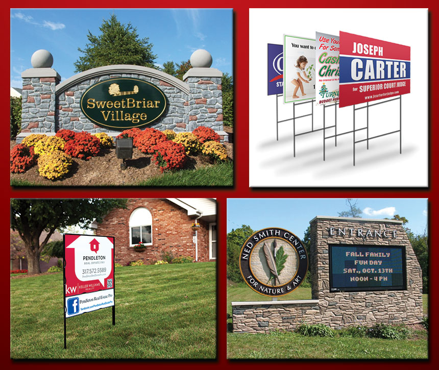 Signs – Rigid outdoor & indoor